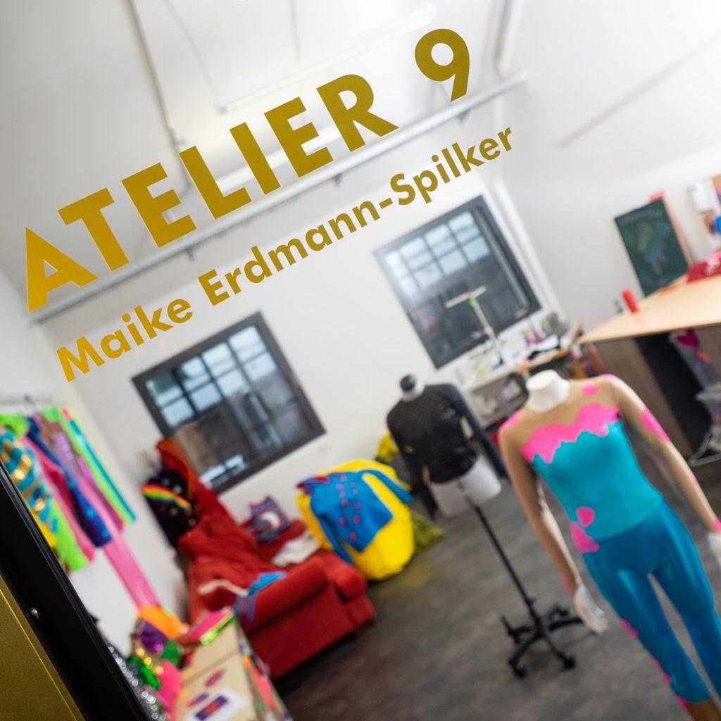 Eingang zum Atelier